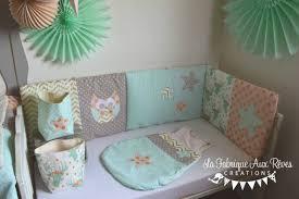 d orer la chambre de b gigoteuse tour lit linge lit chambre bébé poudré vert eau