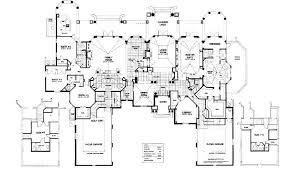 large house blueprints floor plan mediterranean style house blueprint plan mansion