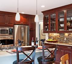 Wall Kitchen Cabinets With Glass Doors Kitchen Cabinet Cherry Glass Door Wall Kitchen Cabinet With Stone