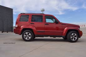 red jeep liberty 2008 2008 jeep liberty sport review rnr automotive blog