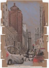 halloween city lynden chicago urban sketchers