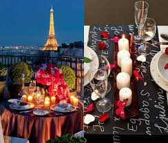 personalize valentine day table decoration for two trends4us com