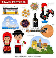 cuisiniste au portugal travel to portugal set of traditional cultural symbols cuisine