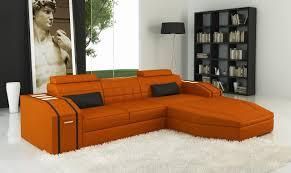 Orange Leather Chair Sofas Center Orange Leather Sofa Sleeper And Chair Designsorange