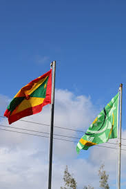 Grenda Flag Happy 44th Anniversary Of Independence To Grenada