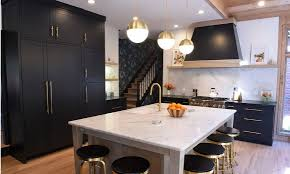 color kitchen cabinets with black appliances one color fits most black kitchen cabinets