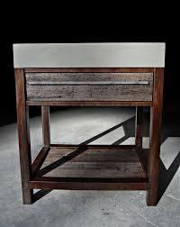 Bathroom Vanity St Louis by Hand Made Rustic Modern Concrete Wood U0026 Steel Vanity By Formed
