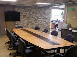 Wood Conference Table Handmade Custom Conference Tables By American Outpost