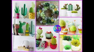 diy cactus u0026 succulent craft ideas cool room decor cute diy