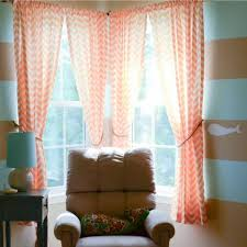 Chevron Pattern Curtains Grey Chevron Curtain Come With Burlap Curtain Panels And Blackout