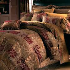 image of quilt bedding sets red quilt cover sets king size