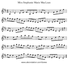 abcnotation.com | Miss Stephanie Marie MacLean - thesession. - 0001