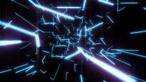 moving electric lights space by gesh tv videohive
