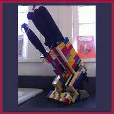 cool knife block turn lego into a cool knife block cool knife block pinterest