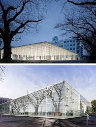 Glass Pavilion Kanagawa Institute Of Technology Workshop Facility Ideal For