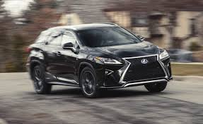 lexus suv 2016 rx 2016 lexus rx450h hybrid awd test u2013 review u2013 car and driver