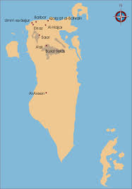 Map Of Bahrain Awol The Ancient World Online The Ancient Saar Project London