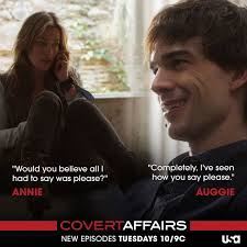 Covert Affairs Blind Guy 72 Best Annie And Auggie Images On Pinterest Covert Affairs