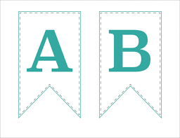 printable alphabet bunting banner free printable bunting banner just a girl and her blog