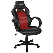 Red Office Furniture by Amazon Com Best Choice Products Executive Racing Office Chair Pu