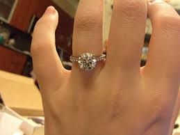 2ct engagement rings show your 2 carat engagement rings weddingbee