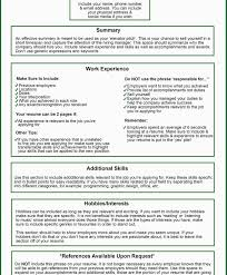 Resume It Skills What Does A Good Resume Include Resume For Your Job Application