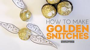 golden snitches for a harry potter free printable