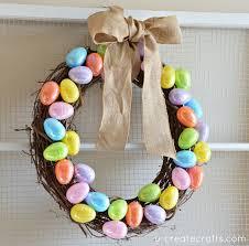 how to make an easter egg wreath easter egg wreath tutorial u create