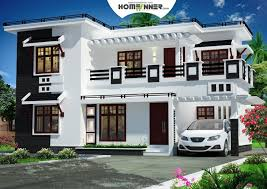 Indian  Sqft Modern Contemporary  Bhk Villa Home Architecture - Modern homes design plans