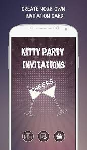 kitty party invitations android apps on google play