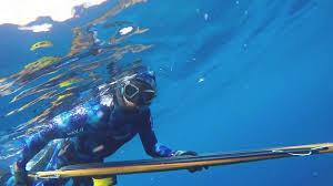 Spearfishing yellowfin allison tuna hudson canyon long island