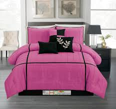 Fuschia Bedding Pink Bed Size King Comforters All Ages Sears