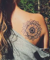 shoulder tattooo 20 of the most boujee sunflower tattoo ideas shoulder tattoo