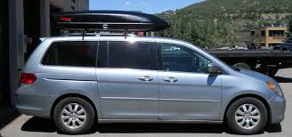 honda odyssey roof rails honda odyssey roof rack and cargo box