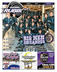 Six Flags Tinseltown California Rubber Magazine January 2018 By Rubber Hockey