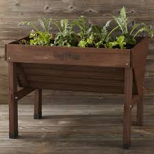 vegtrug raised bed planter medium williams sonoma