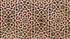 geometric patterns became a distinctive feature of islamic