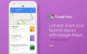 Maps Googlecom Google Maps Legt Listen Eurer Lieblings Orte An Und Teilt Sie