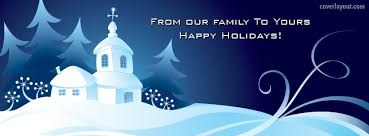 from our family to yours happy holidays cover from our