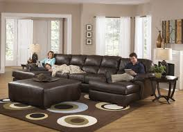 furniture attractive klaussner for your home furniture design brown leather sofa with klaussner with brown carpet and large window for small family room