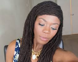 loc hairstyle tutorial suitable for thinning and unkept edges