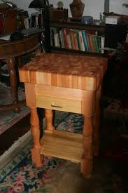 small butcher block table the perfect fit for small kitchens free standing butcher block island