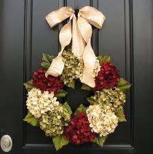 wreaths hydrangea wreath wreaths etsy wreaths