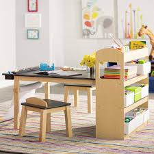 viv rae emilio kids rectangular arts and crafts table with