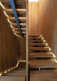 Stair Lighting by Stair Lights Luxurious Home Design