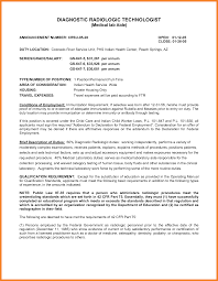cover letter examples for radiologic technologist top radiology