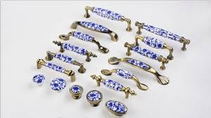 kitchen cabinet door knobs and handles item 3 3 75 ruralist blue white knobs dresser knob drawer pulls handles knobs kitchen cabinet door handle knob pull bronze ceramic decorative