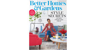 better homes u0026 gardens magazine unveils seventh annual september