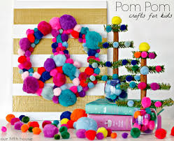 pom pom crafts our fifth house