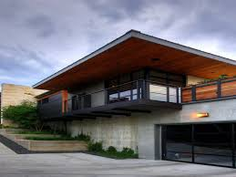Concrete House Plans Garage House Designs Architecture Modern Natural Design Plans With